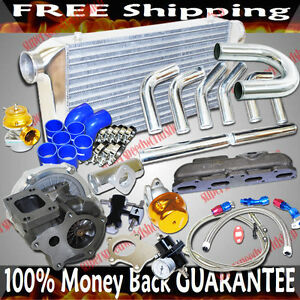 Turbo Kits T3 t4 Turbo For 95 99 Dodge Neon High Line Coupe 2d 420a 2 0l