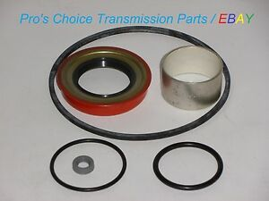 Gm Chevy Th700 700 R4 Transmission Rear Tail Housing Teflon Bushing And Seal Kit