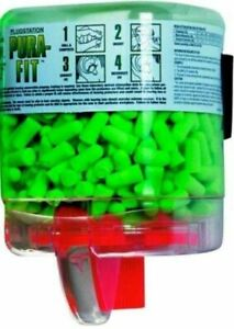 Moldex Puri fit Earplugs 250 box Plugstation Nrr31 W cord 2 Boxes Ms92220
