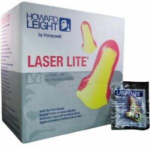 Ll1 Laser Lite Cordless Ear Plugs 200 box Howard Leight Plugs 10 Boxes Ms92260