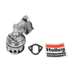 Holley 12 834 Mechanical Fuel Pump For Carbureted Small Block Chevy V8s 80 Gph