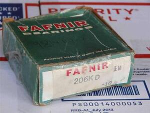 126 Lot Of 4 Fafnir 206kd Bearing new old Boxes
