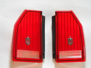 New Monte Carlo Ss Ls Taillight Tail Light Lens Set 1987 1988