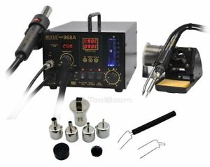 Aoyue Int968a Hot Air Soldering Station 220v