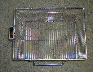 Stainless Steel Electric High Pressure Open Fry Basket Without Handle 5004269