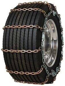 Quality Chain 3161slc Super Single 8mm Square Link Tire Chains Traction Truck