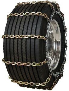 Quality Chain 3155rhd Super Single Non Cam 10mm Square Link Tire Chains Truck