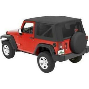 Pavement Ends Replay Top Black Diamond Tint Fits 07 09 Jeep Wrangler Jk 2 Door