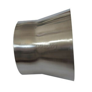 Cxracing 4 To 3 Od Weld On Aluminum Reducer Pipe 2mm Thick 3 Long