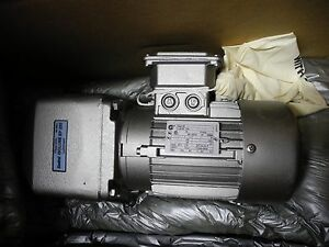 Nord Motor With Gear Box 32612520 0326 5 Hp 3 Ph 230 460v 1720 Rpm New