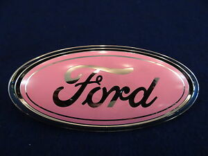 87 88 89 90 91 92 93 94 95 96 97 98 99 00 01 02 03 04 Mustang Ford Emblem Pink