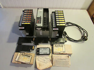 Reliance Electric Automate 15 Programmable Controller 45c15a W Loaded 45c1a X 2
