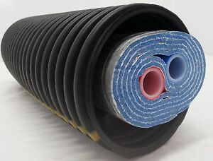250 Ft Of Commercial Grade Ez Lay Five Wrap Insulated 11 2 Ob Pex Tubing