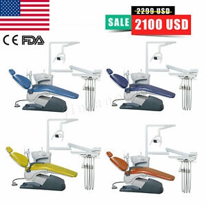 5set Dental Slow Low Speed Straight Nosecone Handpiece air Motor 4holes E type