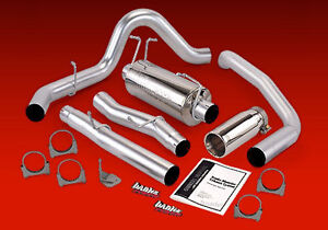 Banks Monster Exhaust 03 05 Ford Excursion Powerstroke 6 0l Diesel Chrome