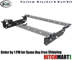Curt 5th Wheel Hitch Custom Brackets Rails For 2011 2016 Ford F250sd F350sd