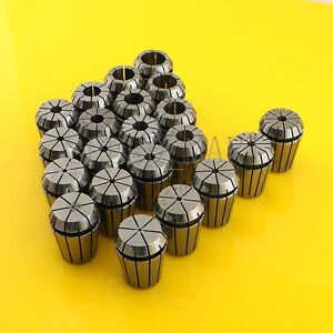 21pcs Er25 Spring Collet Chuck Tool Set Cnc 1mm 16mm 1 5mm 5 5mm