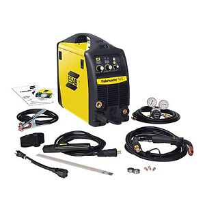 Esab Fabricator 141i Mig Stick And tig W option Welder Pkg w1003141