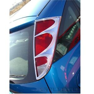 Putco 400848 Chrome Tail Light Covers For 00 04 Ford Focus Hatchback