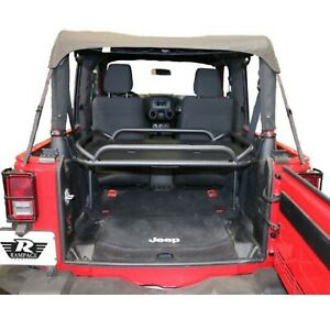 Rampage 86624 Rear Lightweight Sport Rack For Jeep Wrangler 2dr