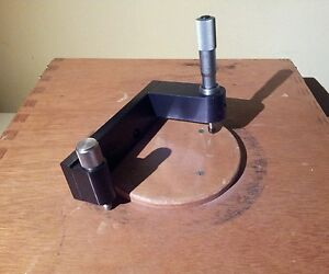 L s starrett Micrometer Head No 263 Toolmaking Jig Machining Bore Measurer Nice