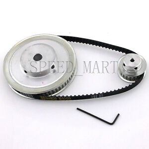 Xl 60t 20t Timing Pulley Xl190 Belt Set Kit Reduction Ratio 3 1 For Cnc