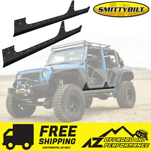 Smittybilt Xrc Armor Body Cladding 2007 2018 Jeep Wrangler Jk 4 Door 76887 Black
