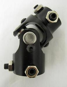 1 48 Spline X 3 4 Dd Black Universal Steering Box U Joint U Joint New