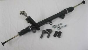 Mustang Ii 2 Power Rack Pinion Steering Gear W Tie Rods Bushings Bolts U Joint