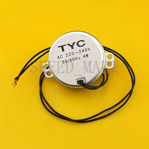 Tyc50 220v 2 5 3rpm Ac Reduction Gear Motor micro Motor Geared Motor