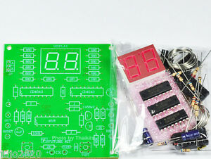 Digital Counter Circuit 2 Digit Led 7 Segments Display unassembled Kit fk926