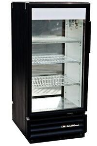 True Gdm 10 Single Door Commercial Refrigerator With Double Sided Glass Doors