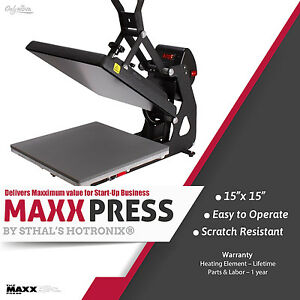 Stahls Hotronix Maxx Clam Heat Press 15 X 15 Free Fedex Ground Shipping