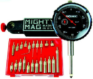 1 Travel Indicator And Mighty Mag Base Set Usa With 22 Contact Points Tb1