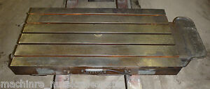 44 X 22 X 5 Steel Welding T slotted Table 5 Slots
