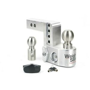Weigh Safe Ws4 2 Adjustable 4 Drop Hitch Ball Mount W 2 Shaft