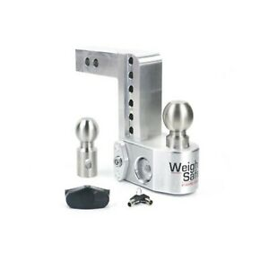 Weigh Safe Ws6 2 Adjustable 6 Drop Hitch Ball Mount W 2 Shaft Weight Scale