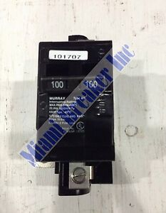 Mbk100m Murray Circuit Breaker 2 Pole 100 Amp 120 240v