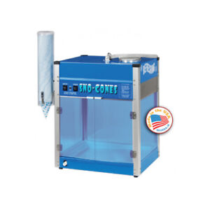 Paragon The Blizzard Commercial Ice Crusher Sno Cone Machine 6133210