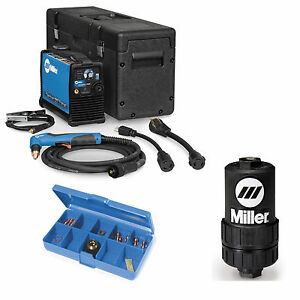 Miller Spectrum 625 X treme Plasma Cutter W20 Torch 907579001 And Accessories