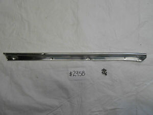 1963 Ford Fairlane 2 Door Coupe A Pillar Trim Chrome Molding Lh Driver Side