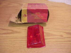 1949 Plymouth Deluxe P17 Business Coupe Nos Mopar Pair Tail Lens Chryco Rh Lh