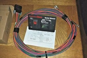 Onan 12 Volt Diesel Remote Start Switch Panel Hour Meter With 25 Foot Harness