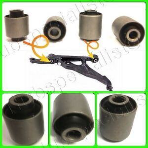 Front Lower Control Arm Bushing For 1994 2001 Acura Integra 4 Pieces New Good