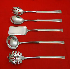 Tranquility By International Fine Arts Sterling Silver Hostess Set 5pc Custom