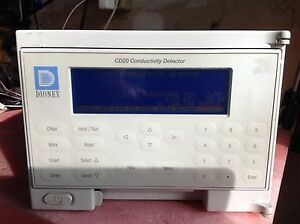 Dionex Cd20 Conductivity Detector Tested Working