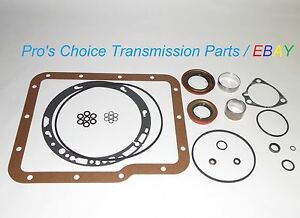 Gm Gmc Chevrolet Aluminum Powerglide Transmission External Resealing Kit all