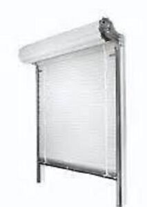Insulated Roll Up Door 8 w X 7 h Manual With Lift Handle
