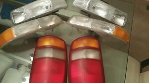 Headlights Tailights And Marker Lights 2003 Chevrolet Tahoe