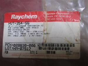 Raychem Hvt 354 sg Outdoor Termination Kit 35 Kv